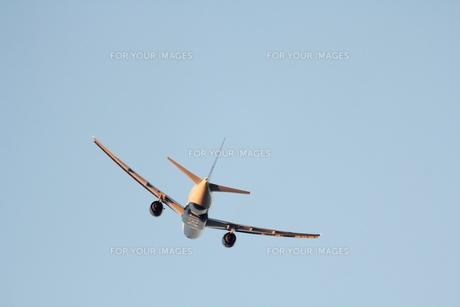 飛行機の写真素材 [FYI01234230]