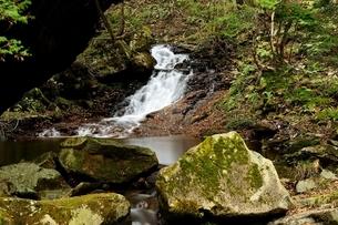 飛騨清見 羽衣の滝の写真素材 [FYI01234349]