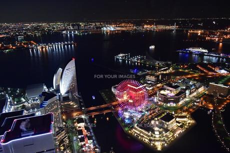 夜景の写真素材 [FYI01234360]