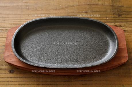 ステーキ皿の写真素材 [FYI01234397]