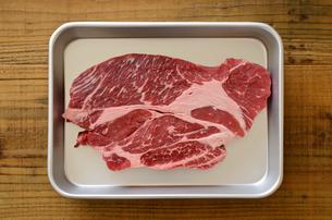牛肉 ロースの写真素材 [FYI01234417]