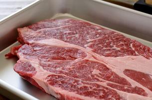 牛肉 ロースの写真素材 [FYI01234418]