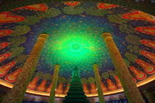 ワットパクナムの天井画の写真素材 [FYI01234679]