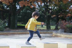 公園で遊ぶ 子どもの写真素材 [FYI01234762]