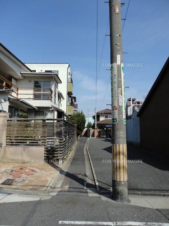 路地の写真素材 [FYI01234906]