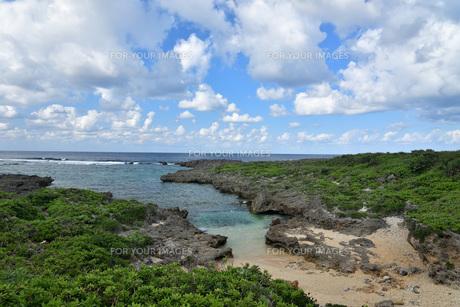 宮古島/白鳥海岸の写真素材 [FYI01235238]