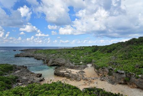 宮古島/白鳥海岸の写真素材 [FYI01235239]