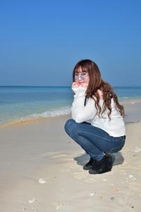 宮古島/リフレッシュ休暇の写真素材 [FYI01235245]