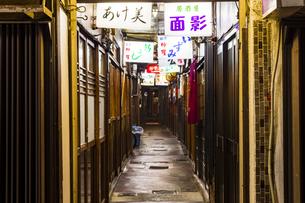 京都リド飲食街の写真素材 [FYI01235321]