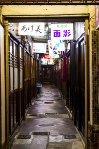 京都リド飲食街の写真素材 [FYI01235322]