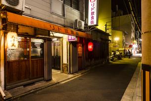 京都リド飲食街の写真素材 [FYI01235324]