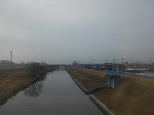 岡山を流れる笹ヶ瀬川の写真素材 [FYI01235363]