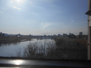 岡山を流れる旭川の写真素材 [FYI01235376]