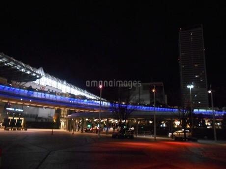 岐阜駅 夜の写真素材 [FYI01235382]
