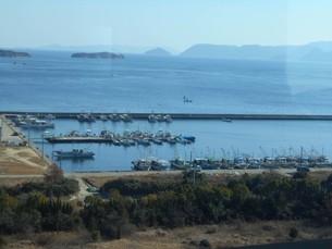 瀬戸内海の港の写真素材 [FYI01235397]