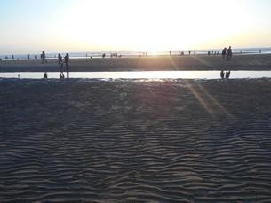 父母ヶ浜(ちちぶがはま・香川県) 日本のウユニ塩湖の写真素材 [FYI01235416]