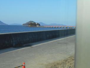 瀬戸内海にある津島神社の写真素材 [FYI01235425]