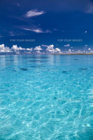 沖縄離島の海の写真素材 [FYI01235937]