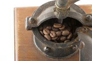 コーヒー豆の写真素材 [FYI01236075]