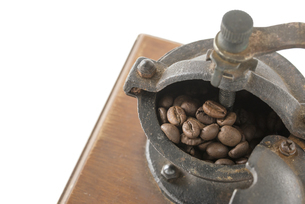 コーヒー豆の写真素材 [FYI01236076]