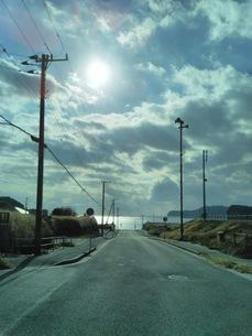 海岸線への写真素材 [FYI01236107]