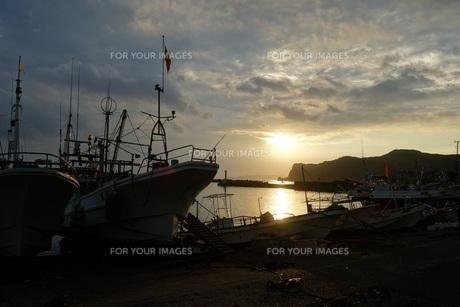 船着き場の写真素材 [FYI01236157]