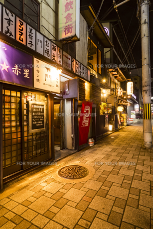 京都リド飲食街の写真素材 [FYI01236318]