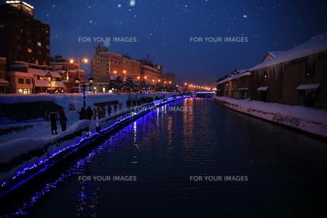 小樽運河の写真素材 [FYI01236583]