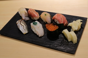 寿司の写真素材 [FYI01236620]