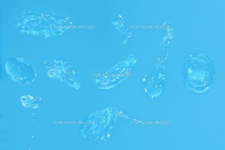 水泡の切抜き画像の写真素材 [FYI01236776]