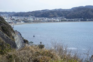 海と海岸線の風景の写真素材 [FYI01236780]