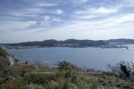 海と海岸線の風景の写真素材 [FYI01236781]