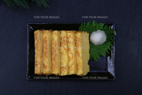 だし巻き卵の写真素材 [FYI01237115]