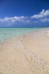 南の島の楽園ビーチの写真素材 [FYI01237195]