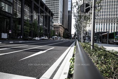 ビジネス街の写真素材 [FYI01237333]