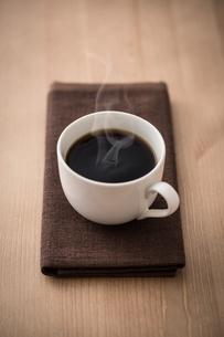 ホットコーヒーの写真素材 [FYI01237559]
