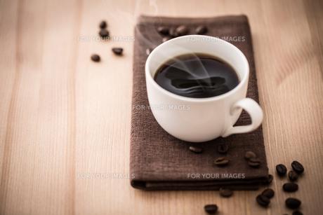 ホットコーヒーの写真素材 [FYI01237563]