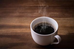 ホットコーヒーの写真素材 [FYI01237583]