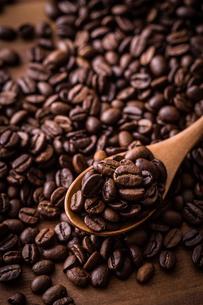 コーヒー豆の写真素材 [FYI01237618]