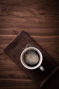 ホットコーヒーの写真素材 [FYI01237628]