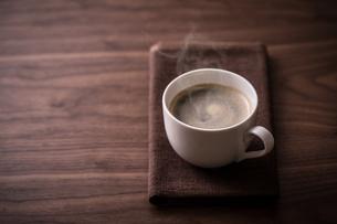 ホットコーヒーの写真素材 [FYI01237629]
