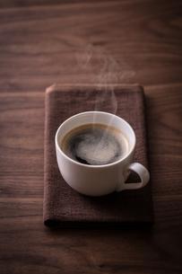ホットコーヒーの写真素材 [FYI01237630]