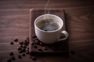 ホットコーヒーの写真素材 [FYI01237631]