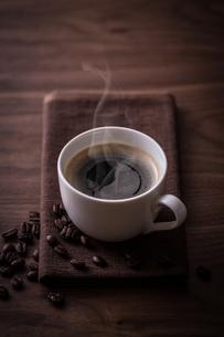 ホットコーヒーの写真素材 [FYI01237632]