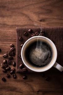 ホットコーヒーの写真素材 [FYI01237635]