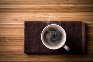 ホットコーヒーの写真素材 [FYI01237639]