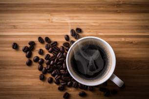 ホットコーヒーの写真素材 [FYI01237640]