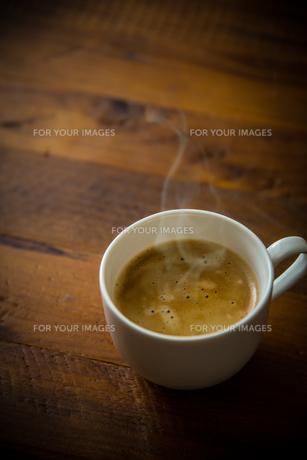 ホットコーヒーの写真素材 [FYI01237649]