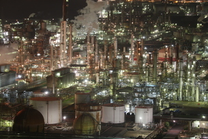 工場地帯の写真素材 [FYI01237797]