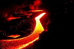 キラウエアの溶岩の写真素材 [FYI01237988]